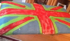 painted union jack