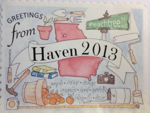 Haven Post Card