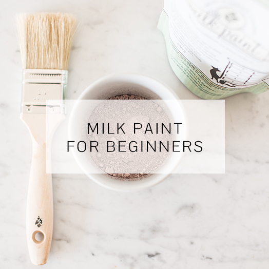 Milk Paint for beginners