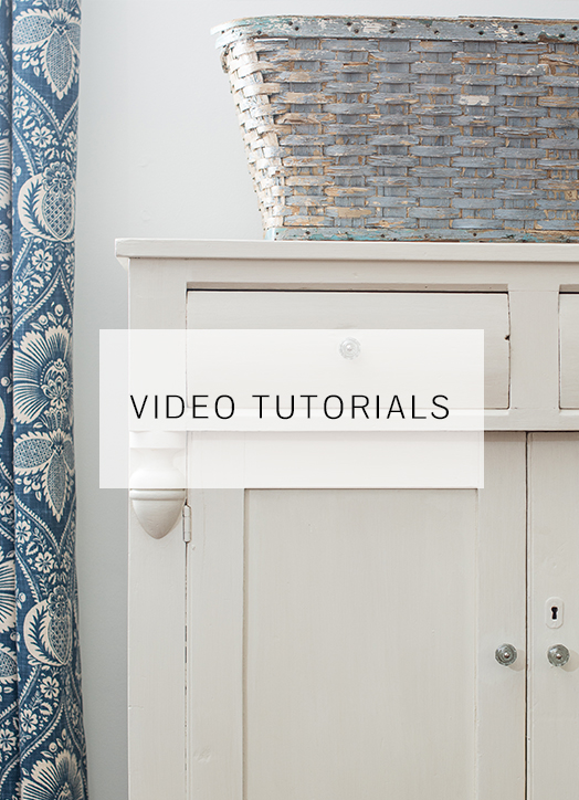 Milk Paint Tutorials