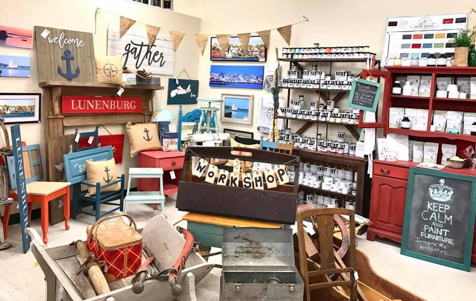 Lots to choose from at Mom's Buy and Sell in Lunenburg Nova SCotia