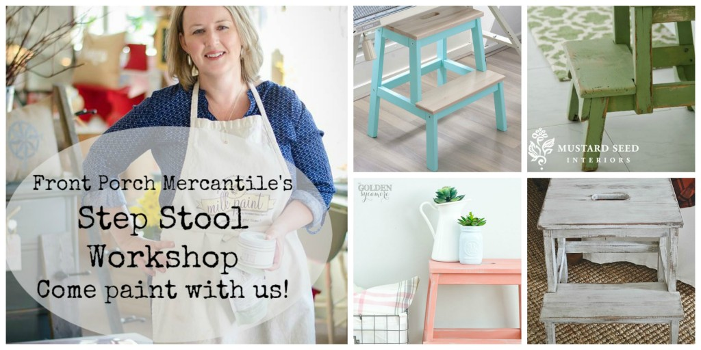 Step Stool Workshop - Front Porch Mercantile