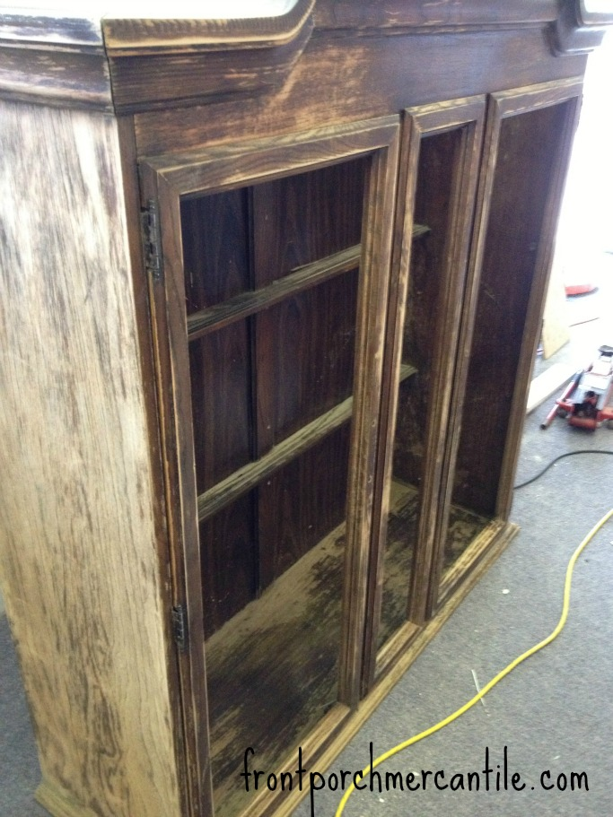 frontporchmercantile.com display cabinet