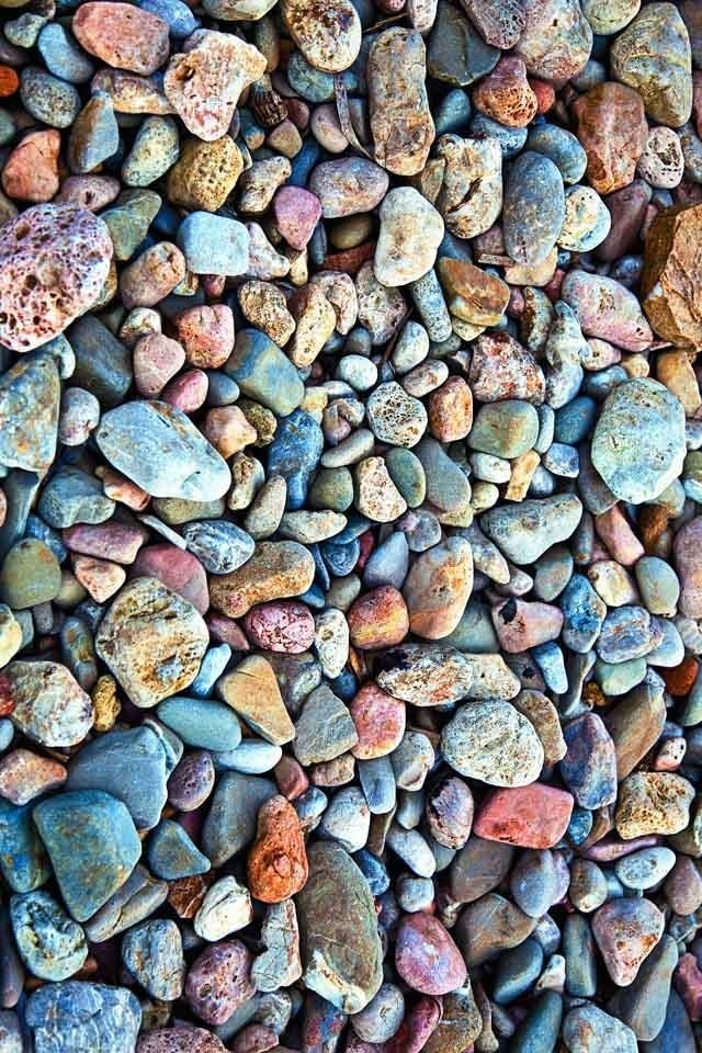 beach rock as inspiration via Front Porch Mercantile