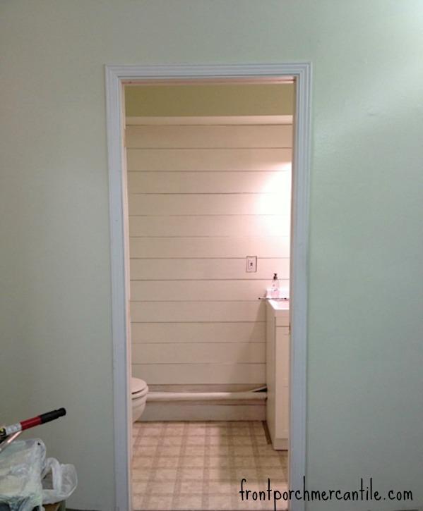 frontporchmercantile.com bathroom reno plank wall