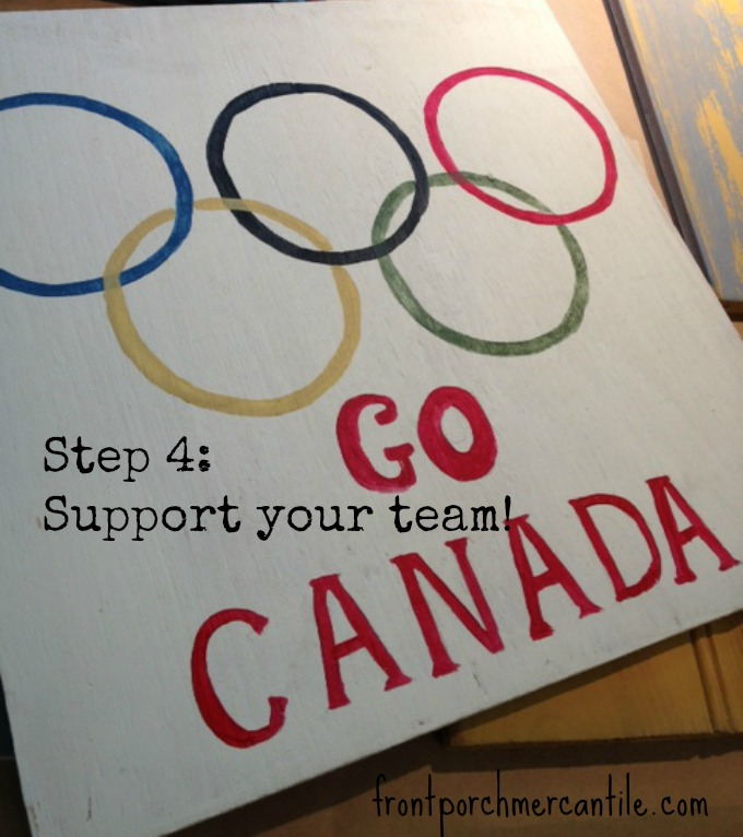 frontporchmercantile.com making an Olympic sign