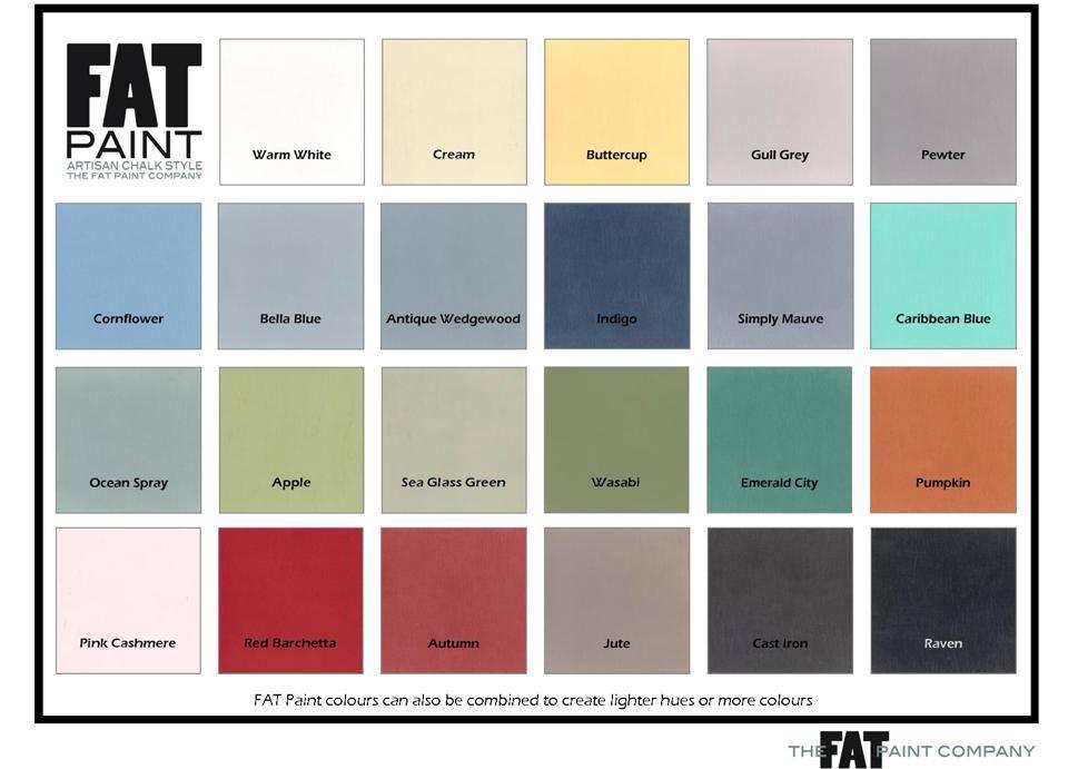 frontporchmercantile.com FAT COLOUR CHART