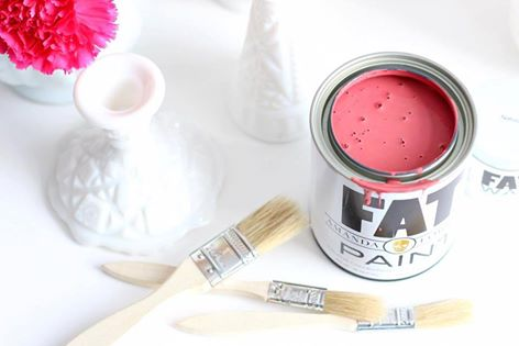 FAT Paint chalk style paint available at Front Porch Mercantile