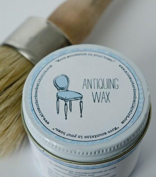 Antiquing Wax - Antiquing Wax - Front Porch Mercantile