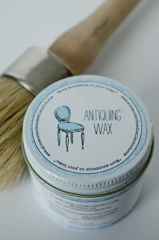 Using ... - Antiquing Wax - Front Porch Mercantile