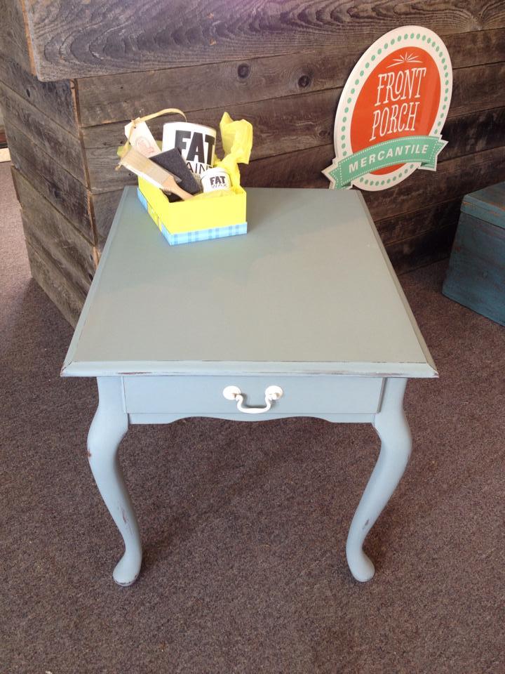 Fat Paint Table frontporchmercantiile.com