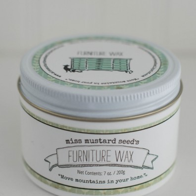 Miss Mustard Seed's Furniture Wax