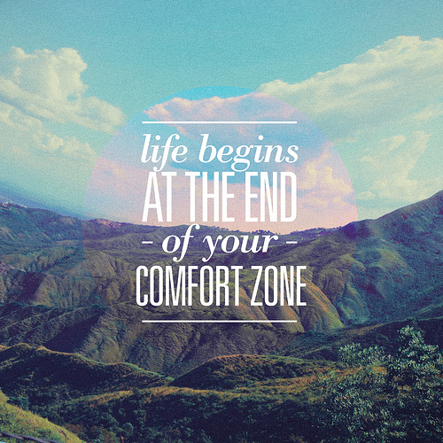 Get out of your comfort zone - be amazed - Front Porch Mercantile