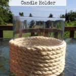 Quick and Easy Sisal Covered Candle Holder