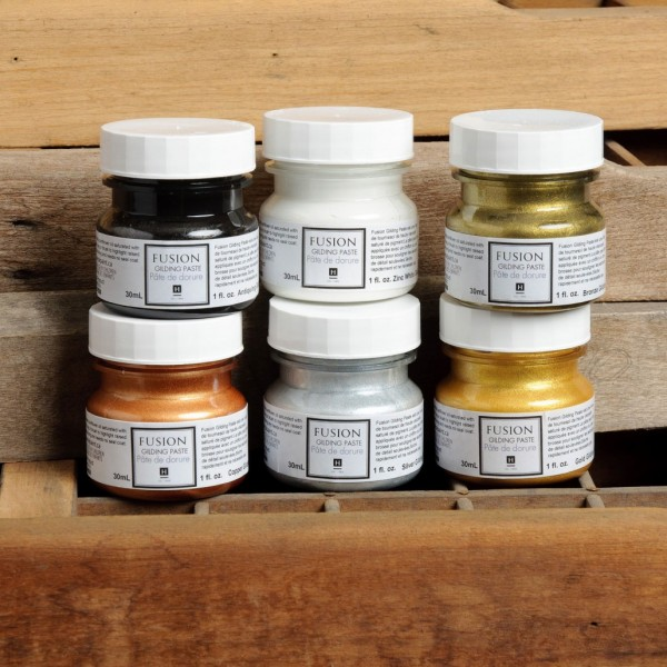 Gilding Waxes Fusion Mineral Paint at Front Porch Mercantile