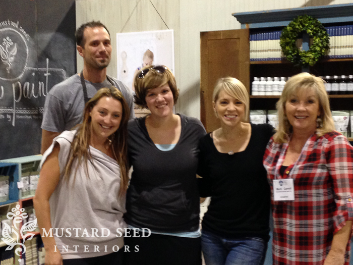 Toronto Home Show Miss Mustard Seed's Booth