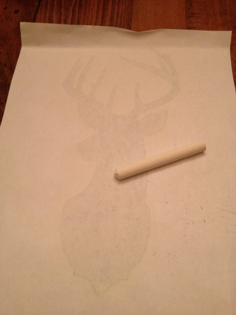 How to Stencil a Deer Head