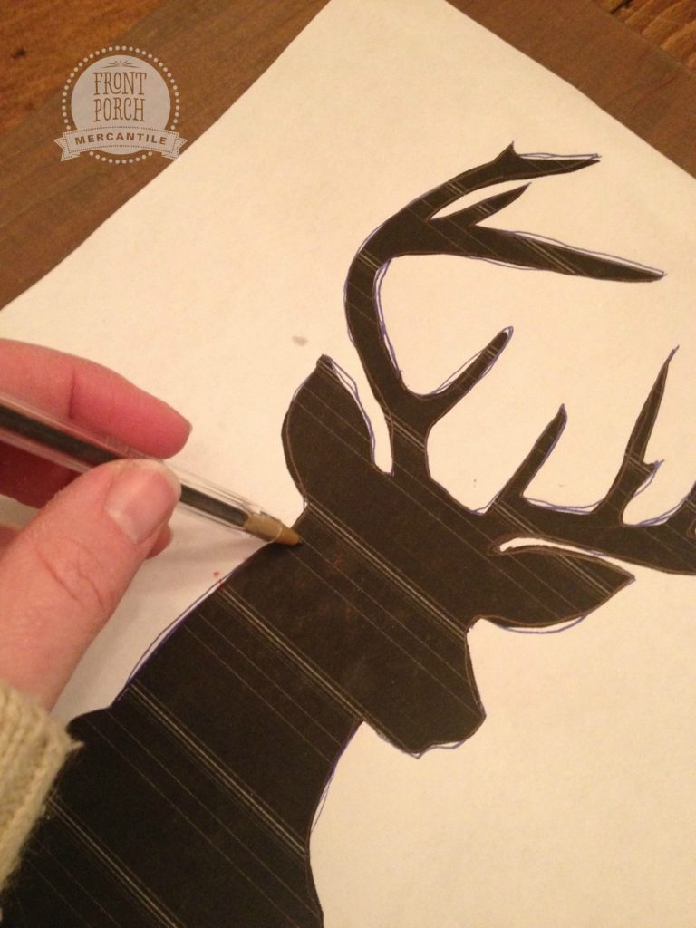 How to Paint a Deer Head