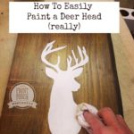 Deer Silhouette – A Quick and Easy How To