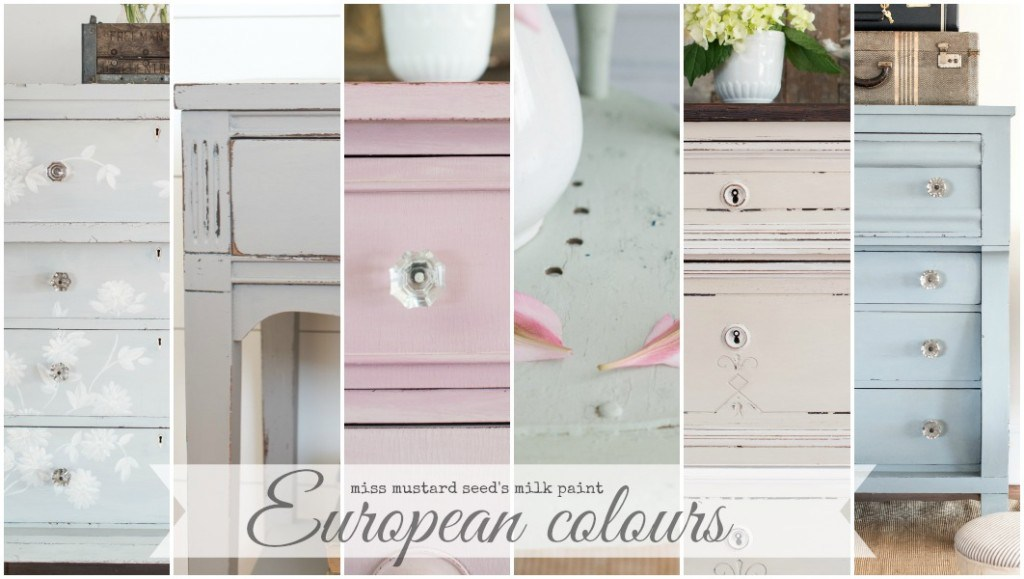 Introducing The European Collection – Miss Mustard Seed's Milk Paint
