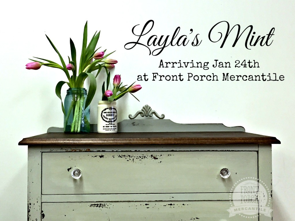 Layla's mint at Front Porch Mercantile