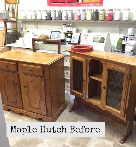 Maple Hutch Before Front Porch mercantile