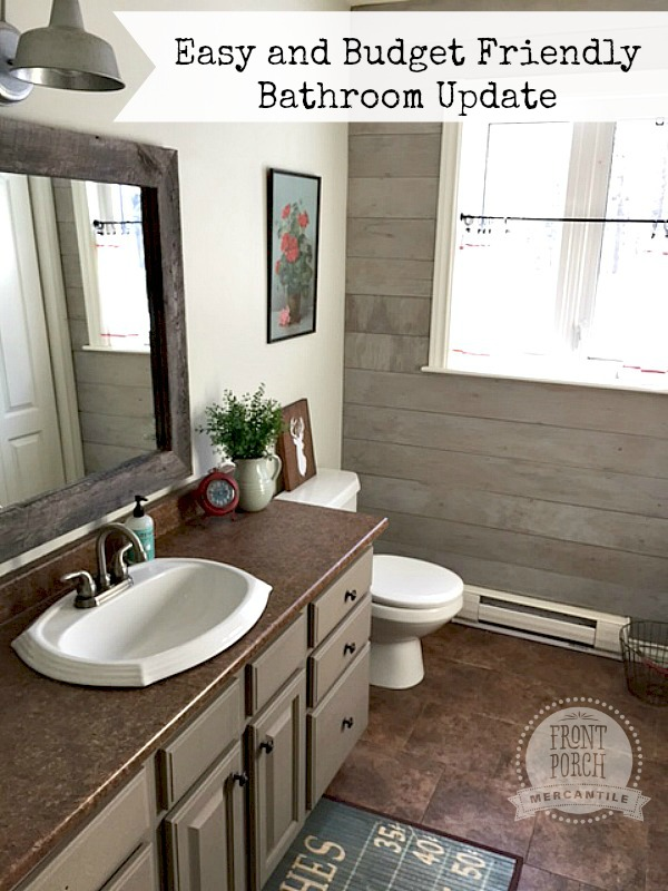 Budget friendly bathroom update for Small bathroom updates