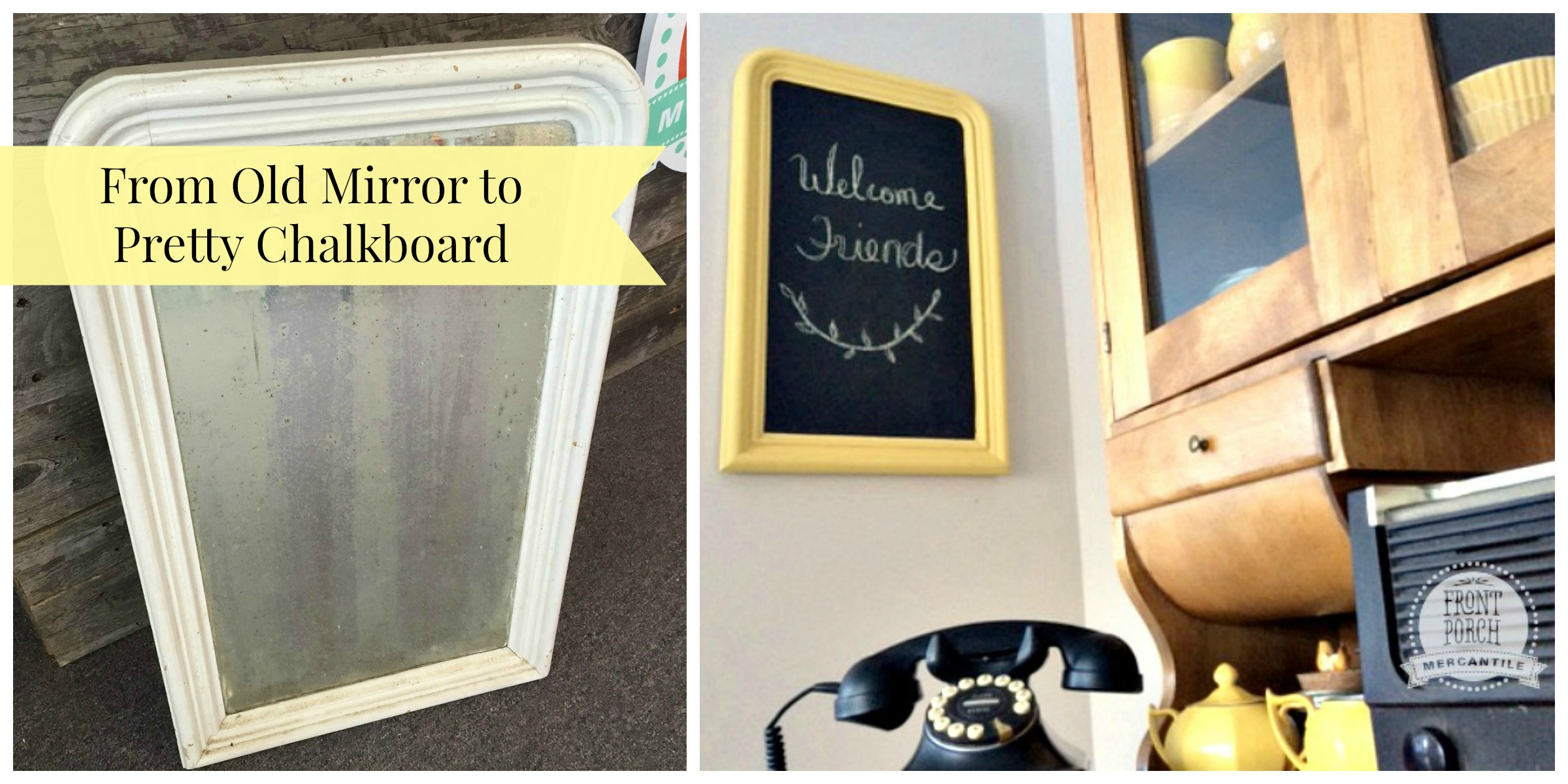 Perfect How To Make A Chalkboard Out Of A Picture Frame Image ...