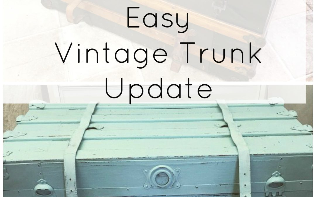 Old Trunk Gets a New Life