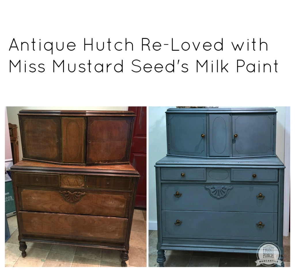 antique hutch re-loved at Front Porch Mercantile
