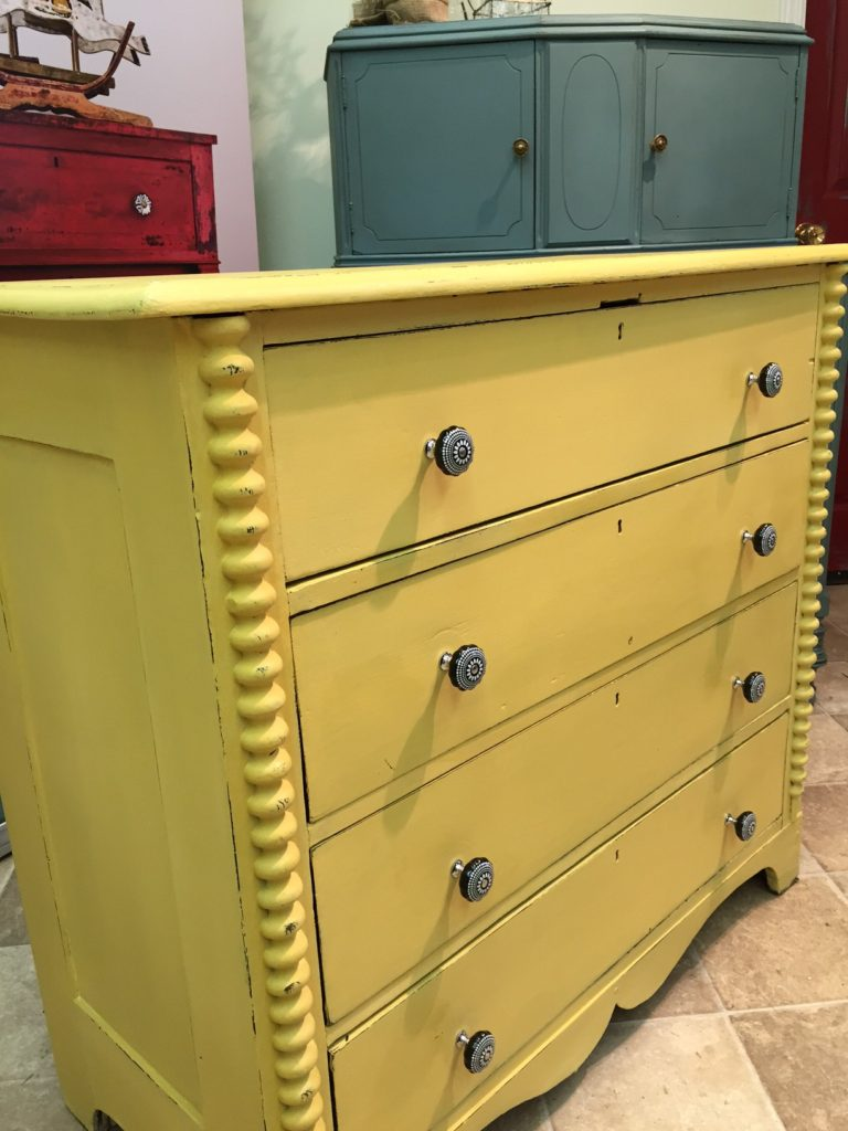 Mustard Seed dresser at Front Porch Mercantile