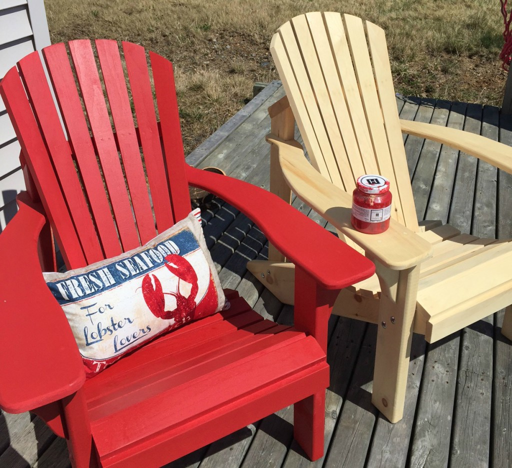 Fusion Painted Adirondack Chairs