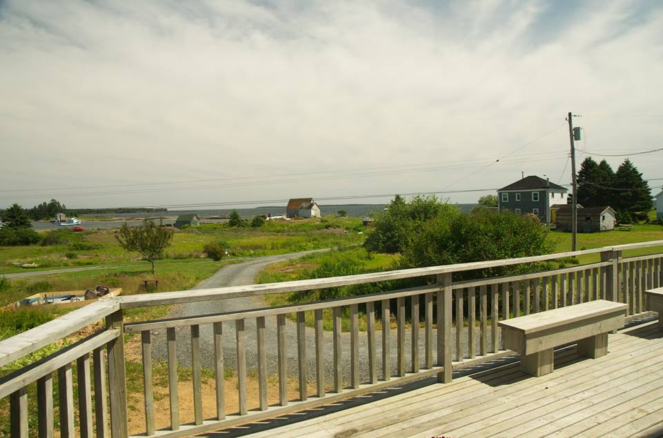 Our view from our Haven by the Sea Blue Rocks NS - Front Porch Mercantile