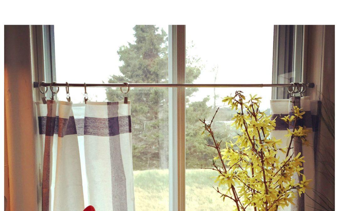 Budget Friendly Cottage Curtains