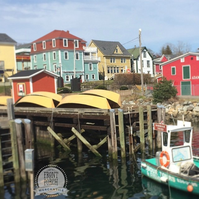 Lunenburg Nova Scotia photo by Front Porch Mercantile