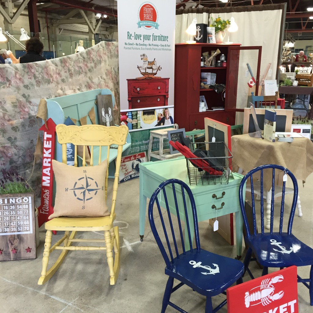 booth display Front Porch Mercantile