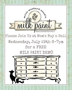 FREE Milk Paint  Demo – Lunenburg NS