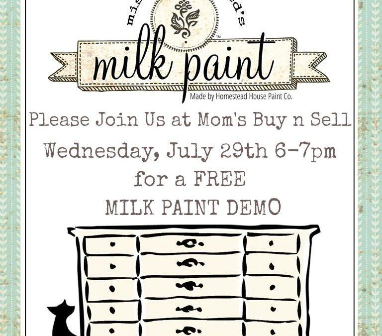 FREE Milk Paint  Demo – Lunenburg NS