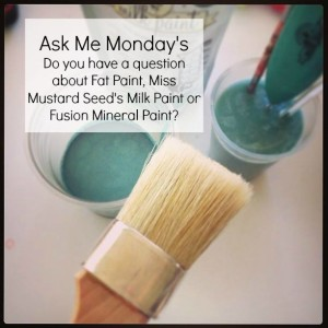 "Ask Me Mondays – ""Can I Really Paint My Furniture?"""