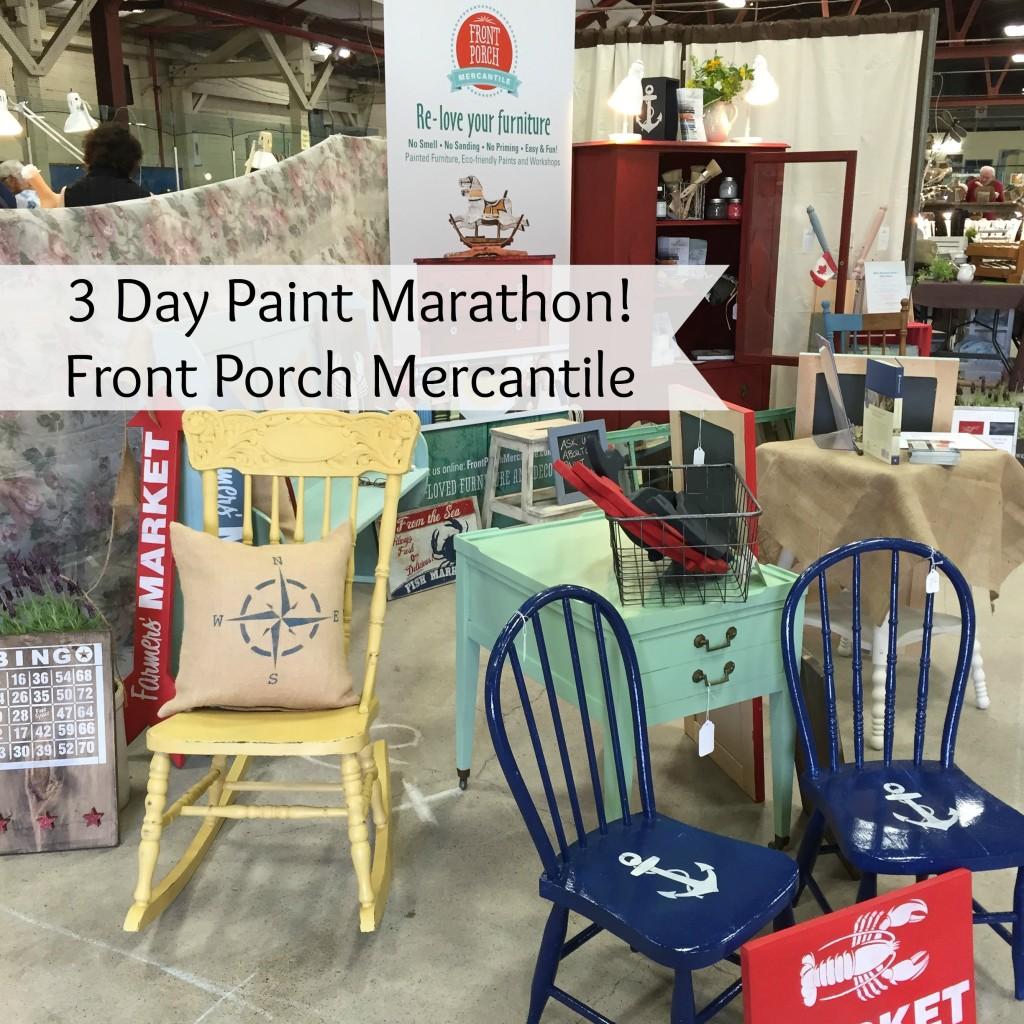 Paint Marathon Front Porch Mercantile