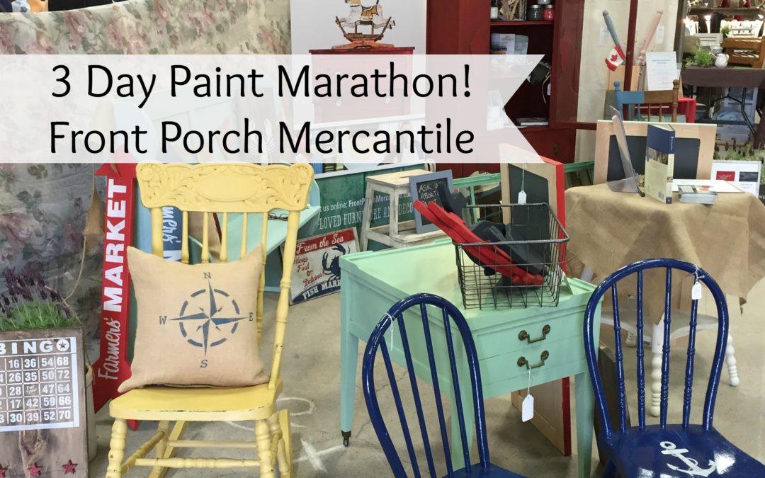 A 3 Day Paint Marathon!