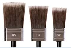 Cling on Flat Brushes available at Front Porch Mercantile