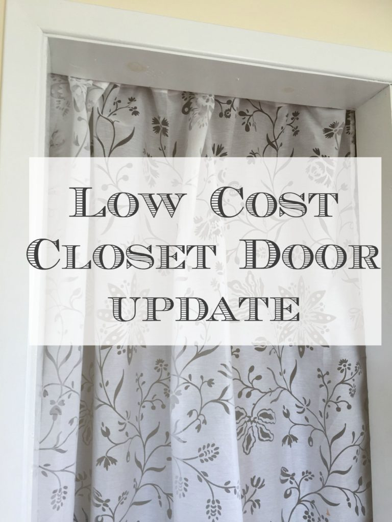 closet door makeover Front Porch Mercantile