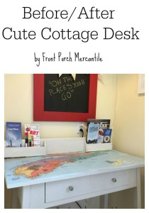 Old Desk Made Cottage Cute