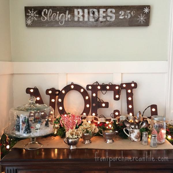 Sleigh Rides Front Porch Mercantile