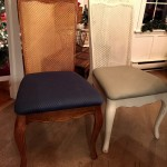 Dining Room Chair Before and After