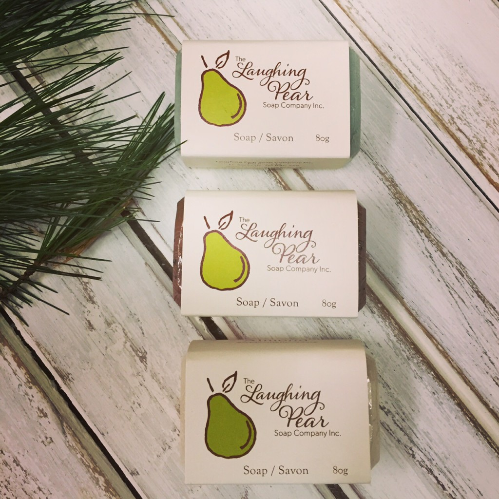Laughing Pear Soap at Front Porch Mercantile