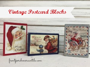 Vintage Postcard Blocks