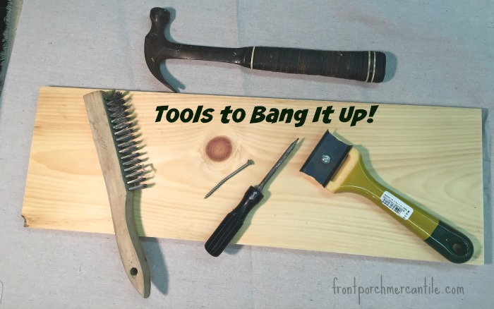Tools to age up your new boards