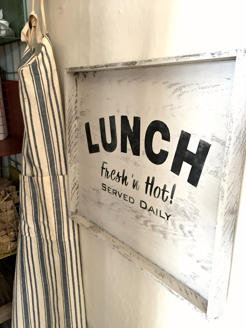 Lunch Served Daily Sign